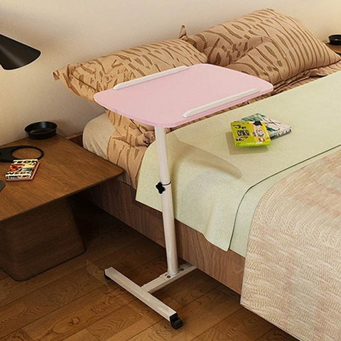 Black/Pink Removable Laptop Table Bed Desk Notebook Stand Table Bedside Sofa Bed Adjustable Portable Computer Desk For Home - Mélange Paris