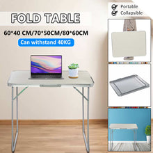 Portable Foldable Aluminum Alloy Computer Desk Laptop PC Notebook Table Camping Picnic Folding Table Outdoor Furniture