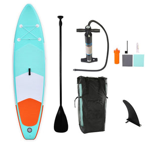 Sup Board 305*76*15cm Inflatable Surfboard Stand Up paddle Board Surfing Water Sport Surf Board Kayak Inflatable Fishing Boat