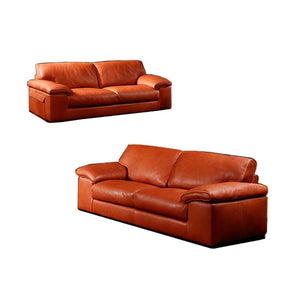 high quality genuine leather sofa modern Nordic couch living room sofa furniture home feather sofa set 1+2+3 seater