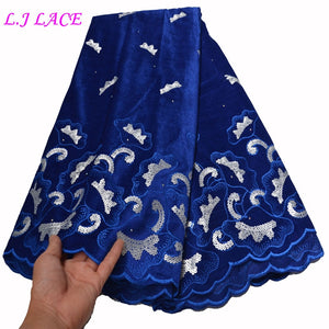 Good soft material embroidery lace DIY velvet lace fabric dress sewing velvet fabrics free shipping DHL laces