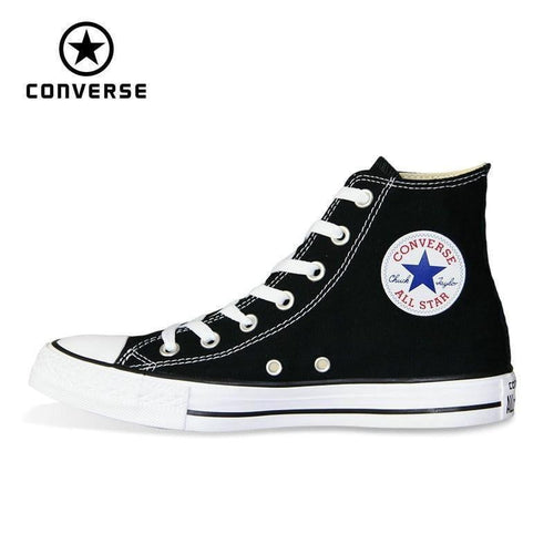 new Original Converse all star shoes man and women high classic sneakers Skateboarding Shoes 4 color free shipping - melangebyojo