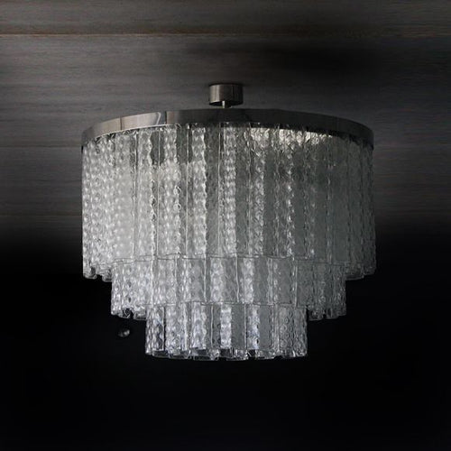 8-Light Chandelier - AM studio glass design shop