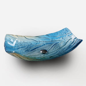 Oceanic washbasin - AM studio glass design shop