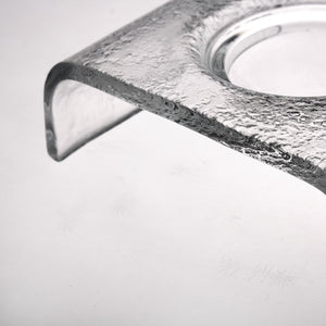 Small Bubble accessory tray - AM studio glass design shop