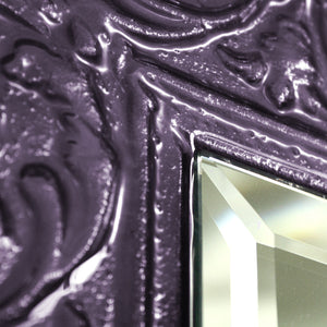 Domingo mirror Violet - AM studio glass design shop
