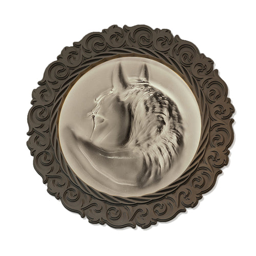 Quarter Horse wall sconce - AM studio glass design shop