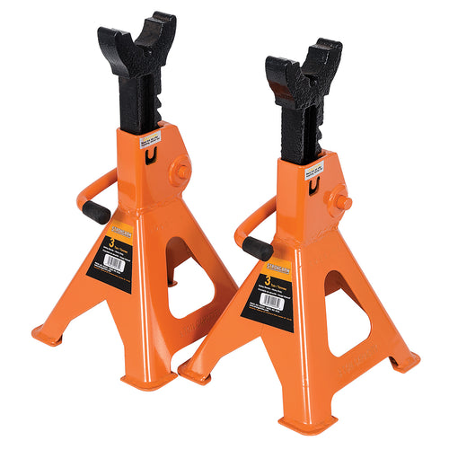 3 Ton Jack Stands - Ratcheting Style - Heavy Duty Model#853A Product#032241