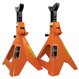6 Ton Jack Stands - Ratcheting Style - Heavy Duty Model#856A Product#032243