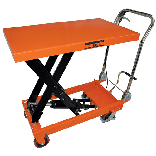 1,100 lb Capacity SLC Series Hydraulic Scissor Lift Cart Model#SLC-1100 Product#190968