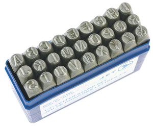 6mm Letter Stamp Set Model#LS-060 Product#391110