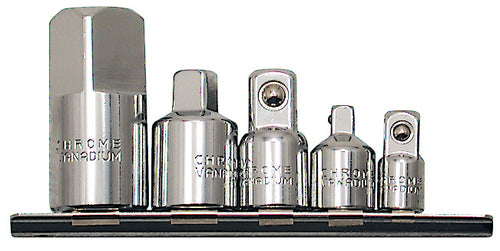 5 PC Chrome Socket Adaptor Set Product#690115