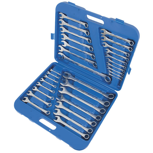 32 PC S.A.E./Metric Raised Panel Combination Wrench Set Product#700201
