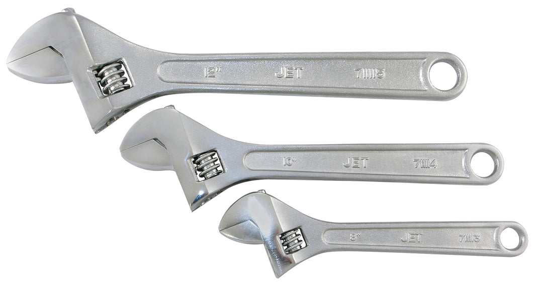 3 PC Adjustable Wrench Set Product#711102