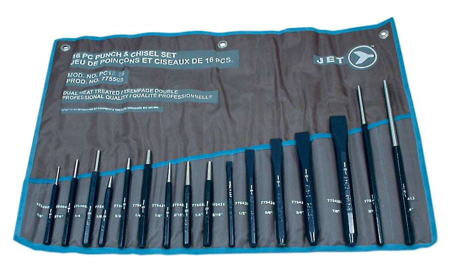 16 PC Punch and Chisel Set Product#775508