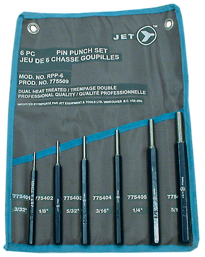 6 PC Pin Punch Set Product#775509