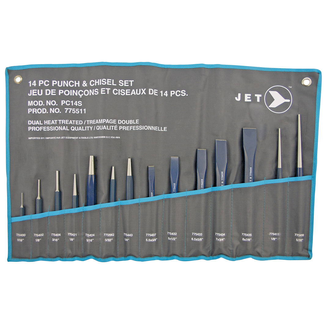 14 PC Punch & Chisel Set Product#775511