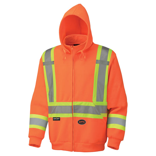 Hi-Viz Polyester Fleece Hoodie Model#6924 Product#V1060350