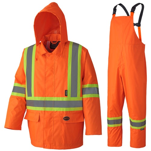 Tough 210D Oxford Poly/PVC Waterproof Suit Model#5608 Product#V1080250