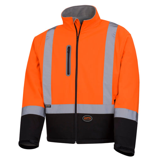 Softshell Mechanical Strength Safety Jacket Model#5679 Product#V1100250