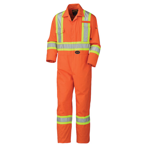 Flame Resistant Cotton Safety Coverall Model#5555 Product#V2520250