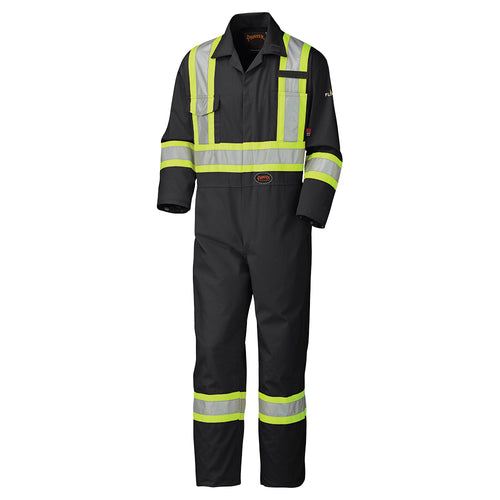 Flame Resistant Cotton Safety Coverall Model#5558BK Product#V2520270