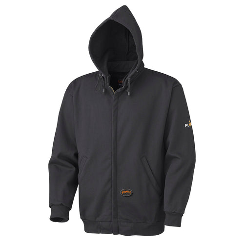 Flame Resistant Zip Style Heavyweight Cotton Hoodie Model#337 Product#V2570270