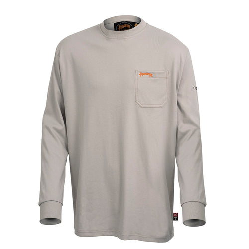 Flame Resistant Long-Sleeved Cotton Shirt Model#333 Product#V2580310
