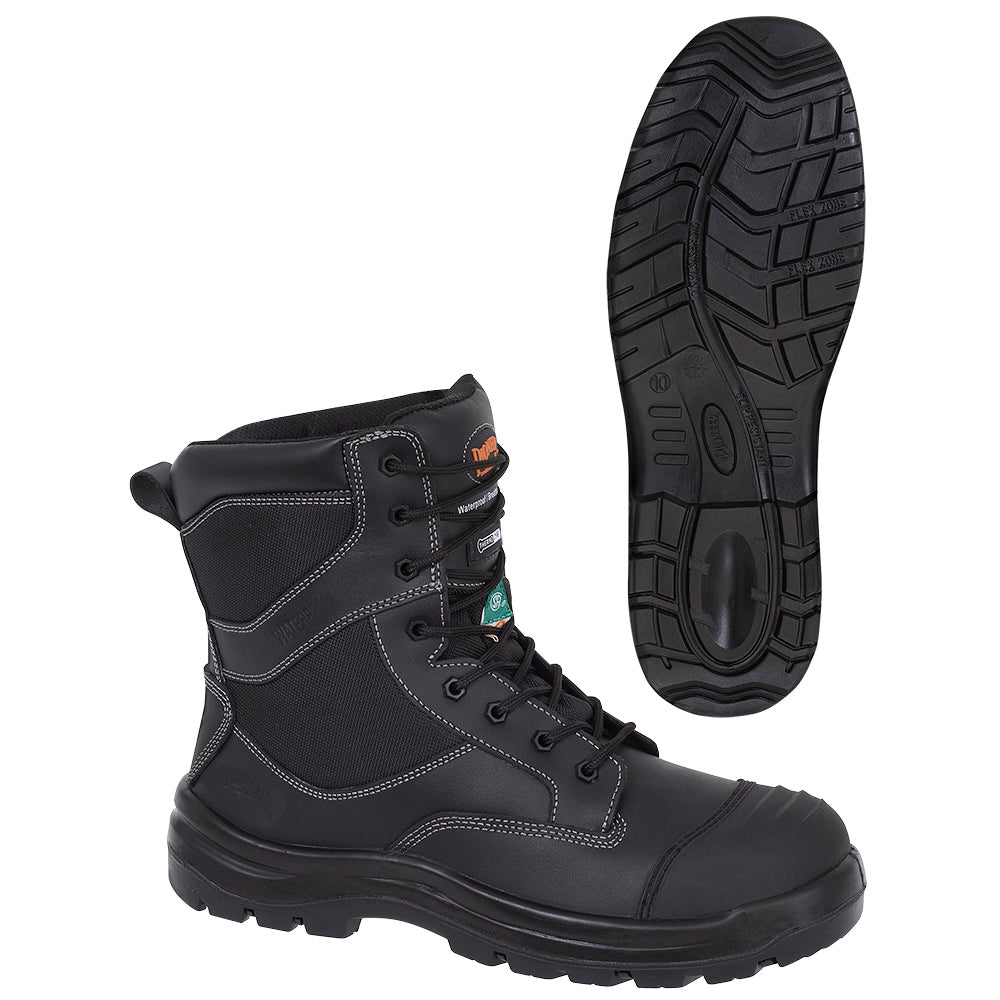 CSA Composite Toe/Plate Metal-Free Leather Safety Work Boot Model#1050 Product#V4610870