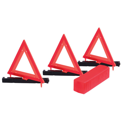 Safety Warning Triangle - 3-pack Model#373 Product#V6301150-O/S