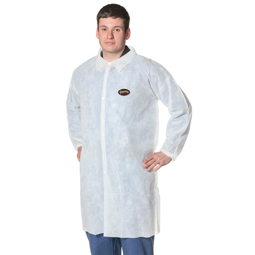 Polypropylene Lab Coat Model#2036 Product#V7013650