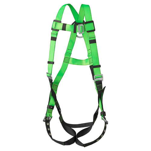Contractor Harness - 1D - Class A - Pass-Thru Chest Buckle - Grommetted Leg Straps Model#FBH-10020A Product#V8002200