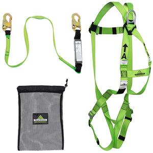 Compliance Fall Protection Kit - 4' (1.2) SP lanyard Model#FK-004 Product#V8252034