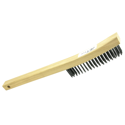 4 Row Long Handle Carbon Steel Hand Scratch Brush Product#551102