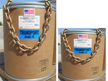 "Load image into Gallery viewer, 1/2"" (11300lbs) Grade 70 Transport Chain Domestic Product#3807-0032"