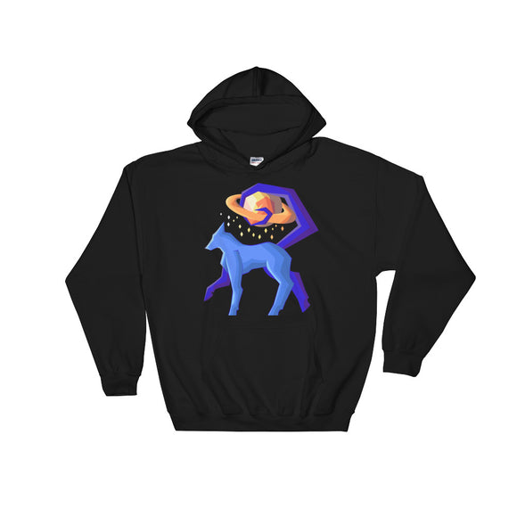 Space WolfHooded Sweatshirt