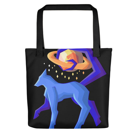 Space Wolf Tote bag