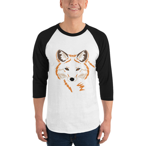 Red Fox 3/4 Sleeve Raglan Shirt