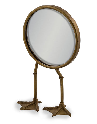 Bronze Bird Leg Mirror