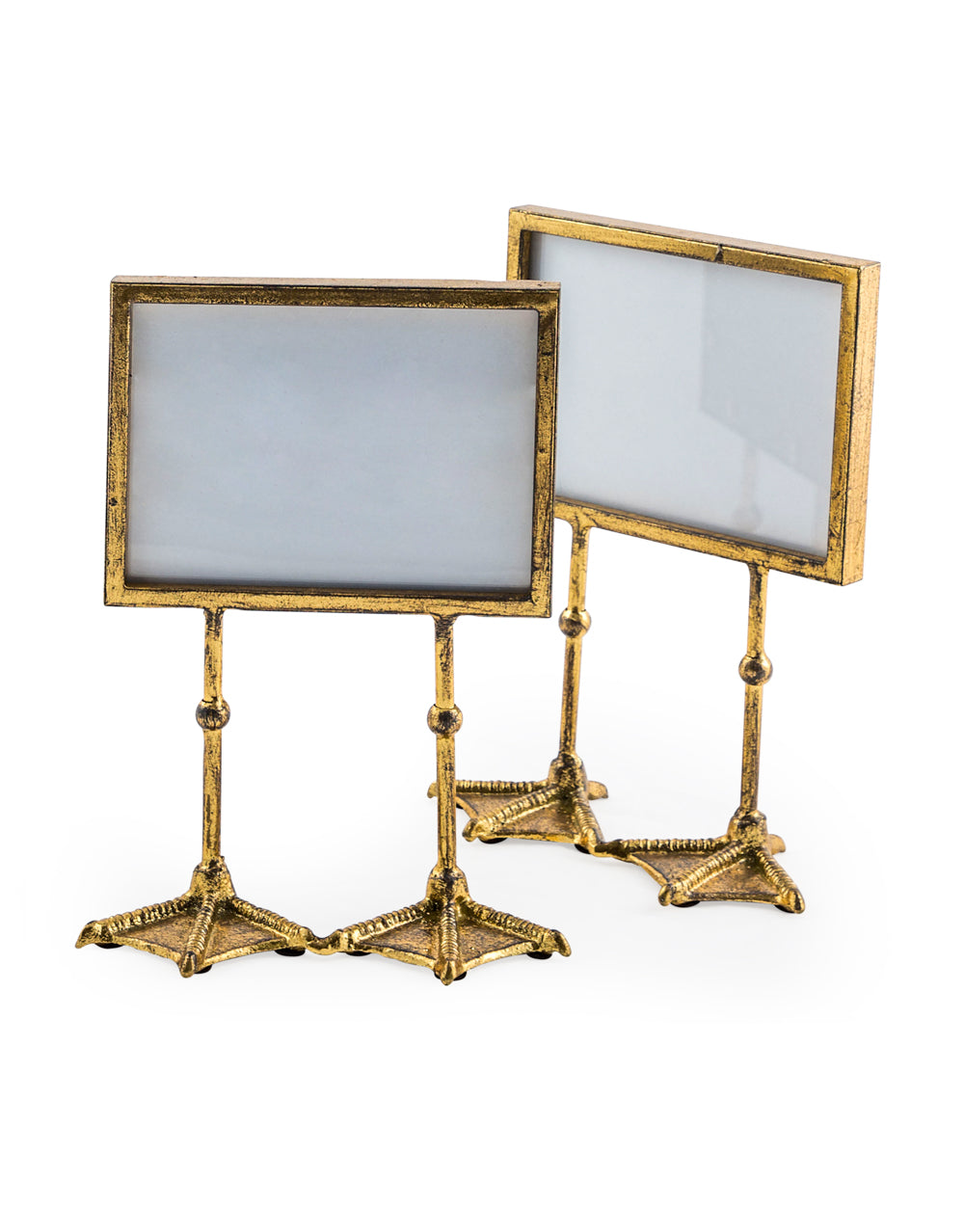 Gold Landscape Duck Feet Photo Frame