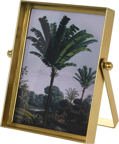 Gold Metal Stand 6x4 Photo Frame