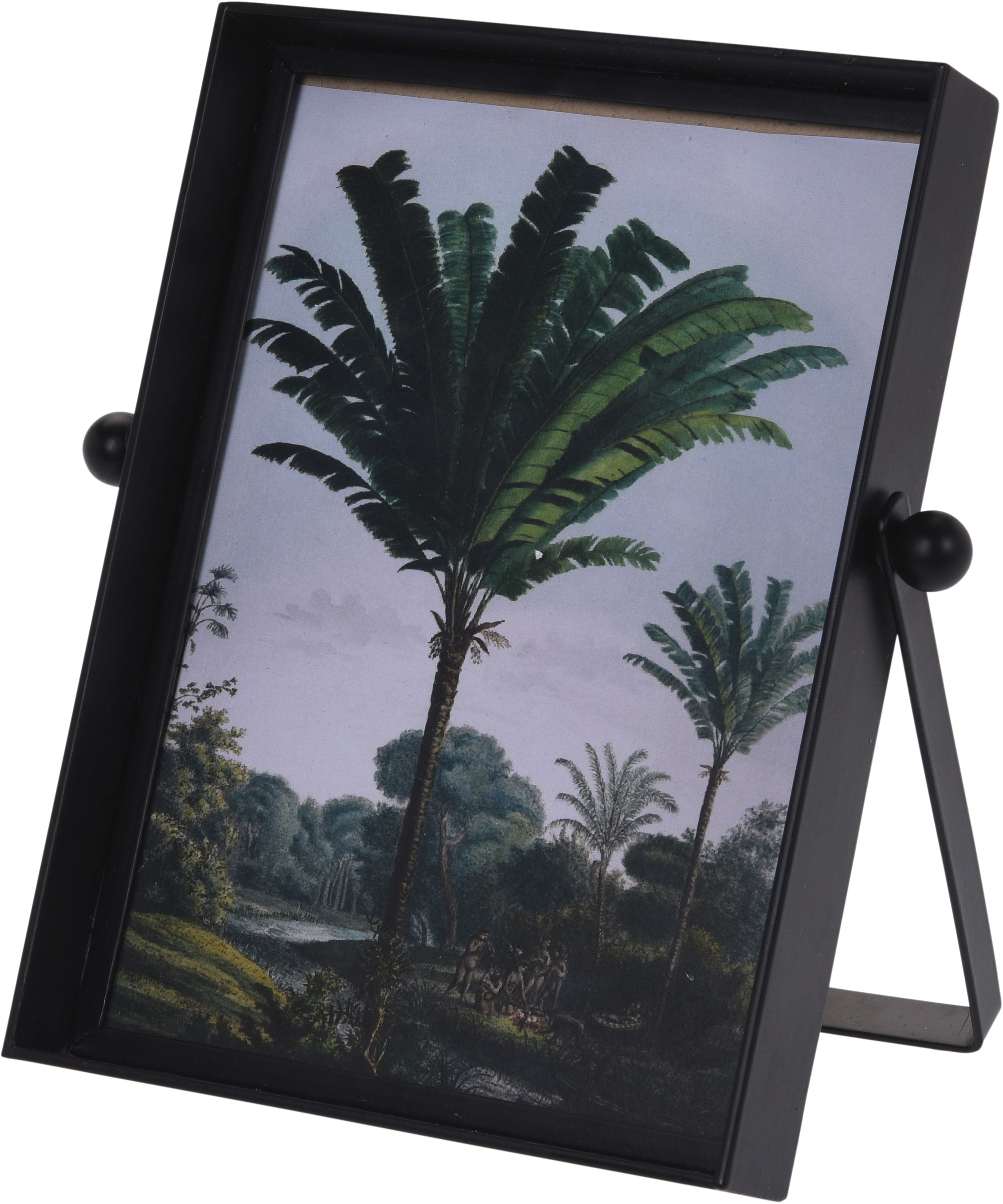 Black Metal Stand 6x4 Photo Frame