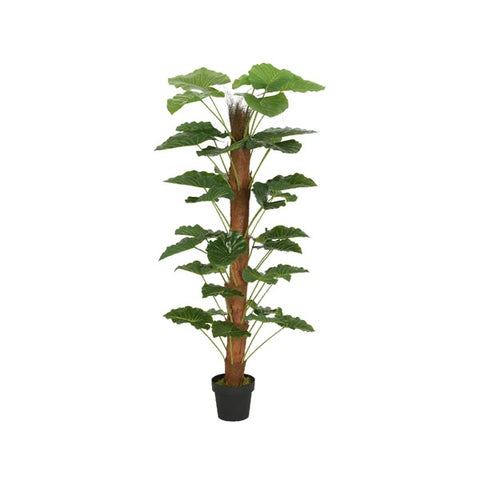 Tall Artificial Plant on Moss Pole