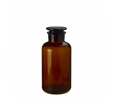 Extra Small Amber Glass Apothecary Bottle