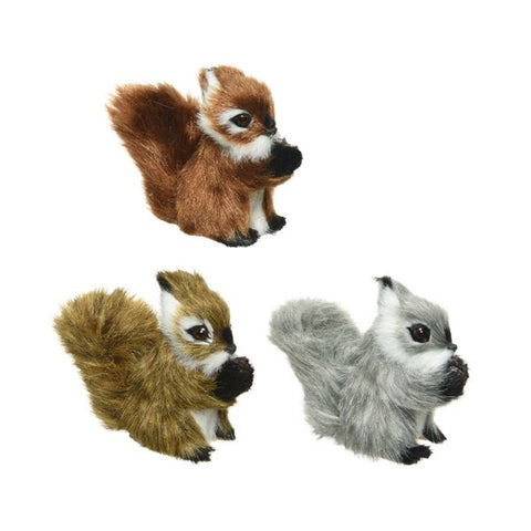 Plush Squirrel Decoration