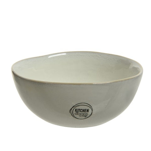 Cream Stoneware Bowl