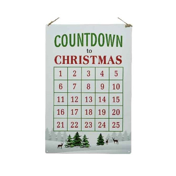Countdown to Christmas Advent Calenda