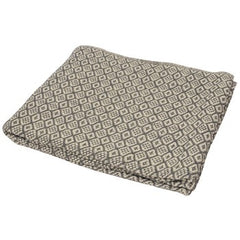 Scandi Grey Geometric Cotton Throw 150x200cm