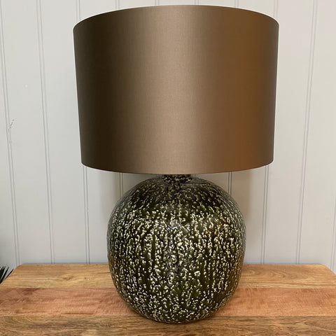 Organic Squash Green Table Lamp