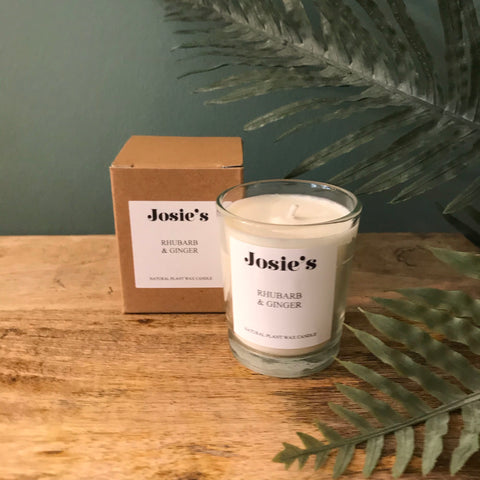 Rhubarb & Ginger Small Votive 9cl Candle